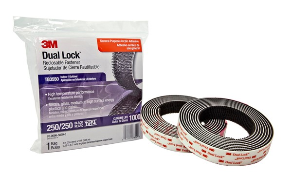 Picture of 3M™  SJ 3550 Dual Lock™ schwarz BLISTER