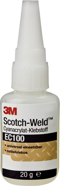 Picture of 3M™ Scotch-Weld™ EC 100 Cyanacrylat, mittelviskos