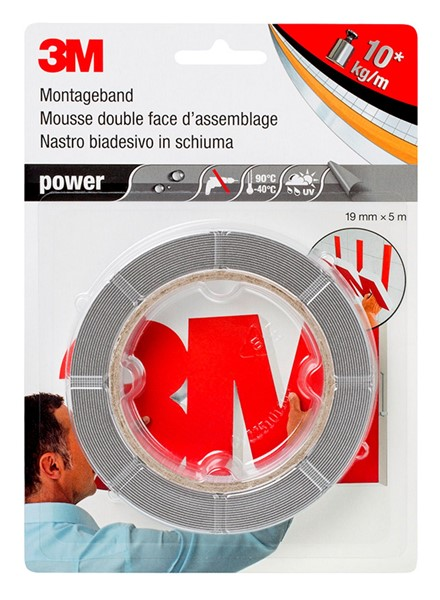 Picture of 3M™ Montageband Power extra stark / grau