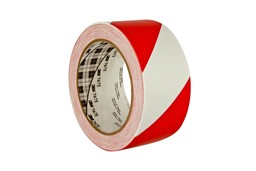 Picture of Scotch® 767 i Allzweck-Weich-PVC-Tape / rot-weiß